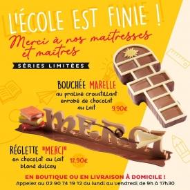 Disponibles en boutiques ! Nos créations chocolatées gourmandes pour la fin d'école et remercier les maîtres et maîtresses 🤗 N'hesitez pas à réserver en appelant votre boutique préférée ❤  Crédit photo : Hervé Le Reste  #aupetitprince #auray #baud #etel #pluvigner #RelaisDesserts #carnac #chocolatelover #chocolat #yummy #miam #Gourmandise #greedy #praliné #Bretagne #morbihan #bzh